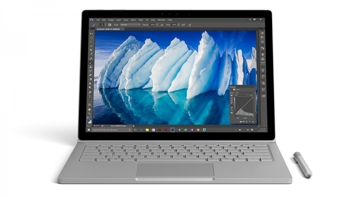 microsoft surface book 2016
