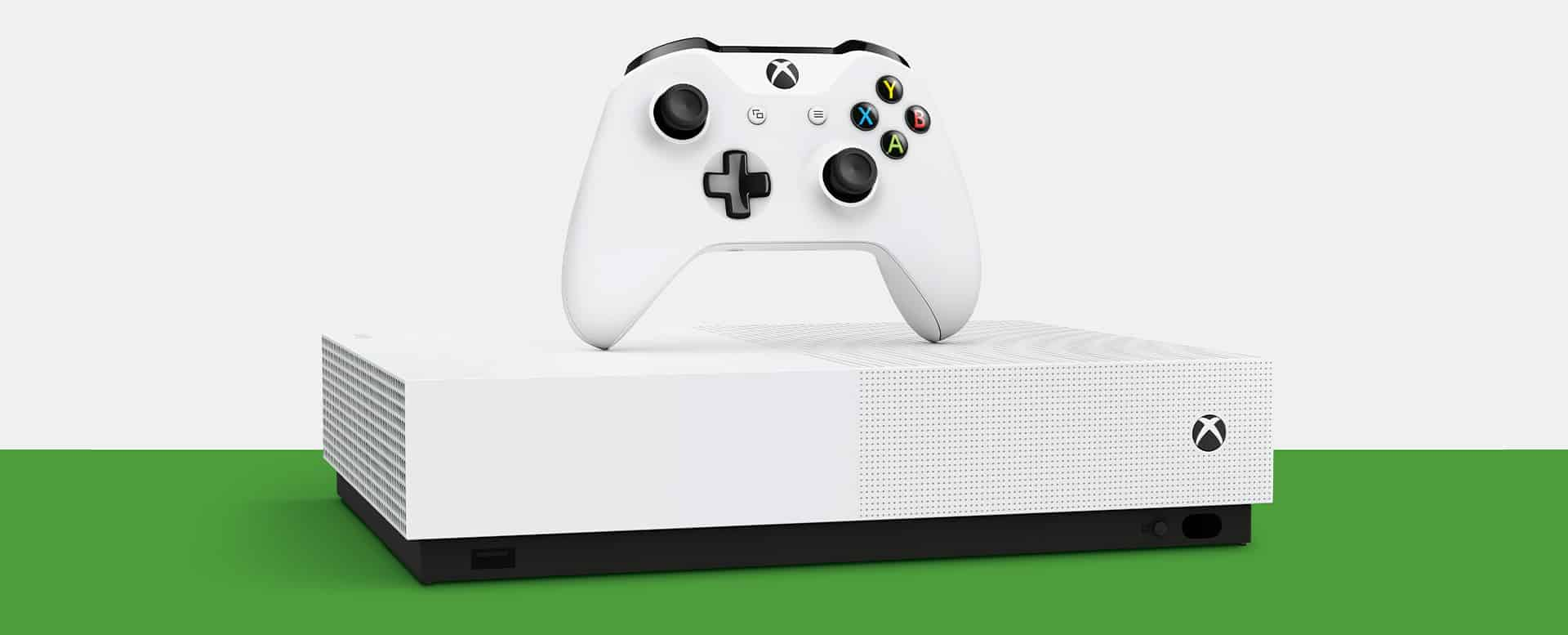 microsoft xbox one s all digital edition