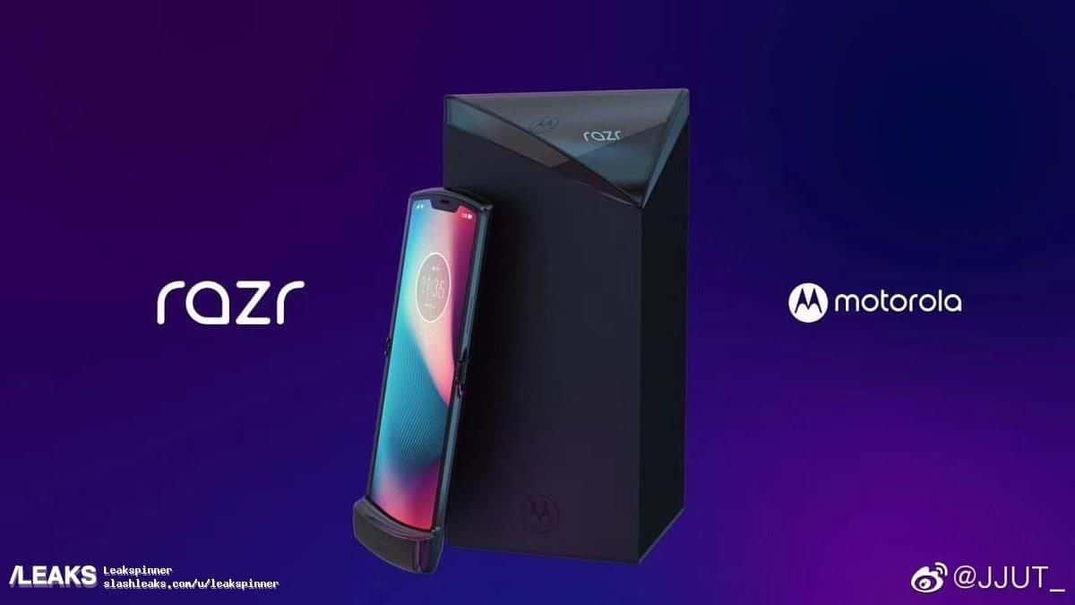 Motorola RAZR renders gelekt