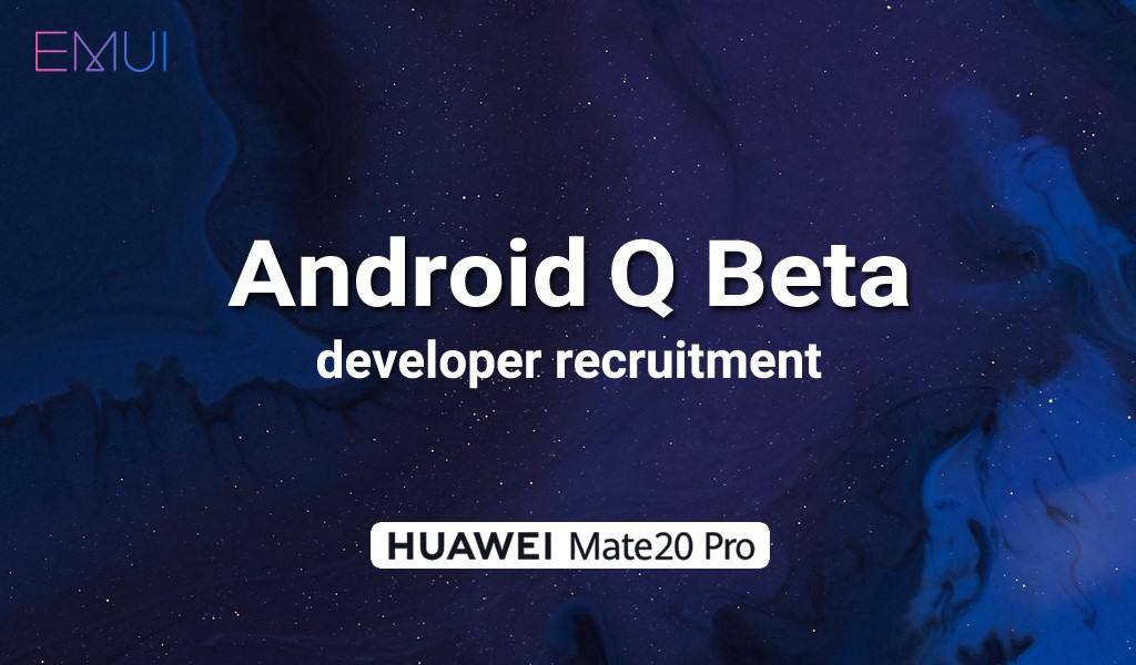 Huawei Android Q Beta - 1