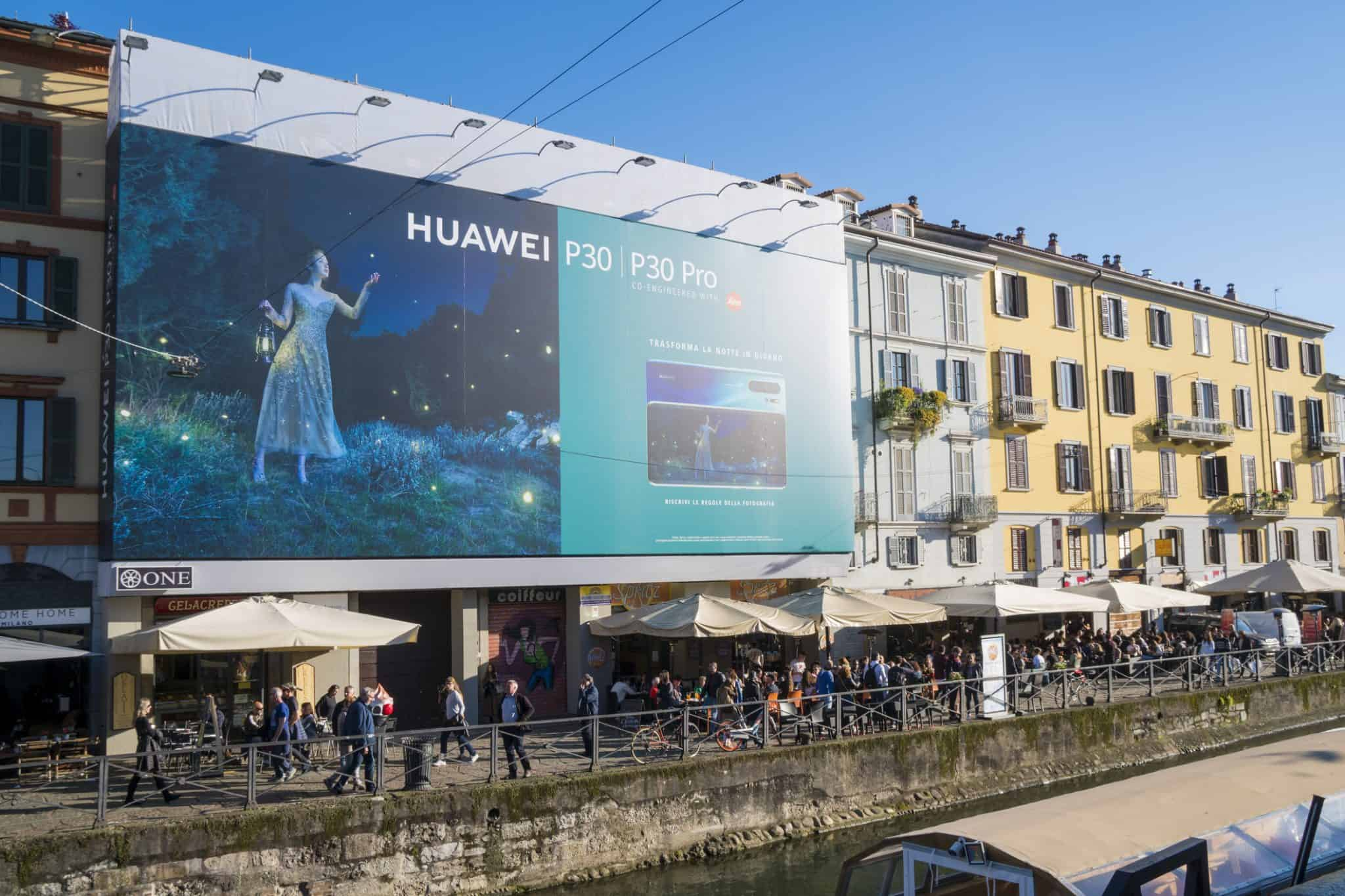Huawei P30 Pro Huawei China VS Trump handelsverbod - Android Q