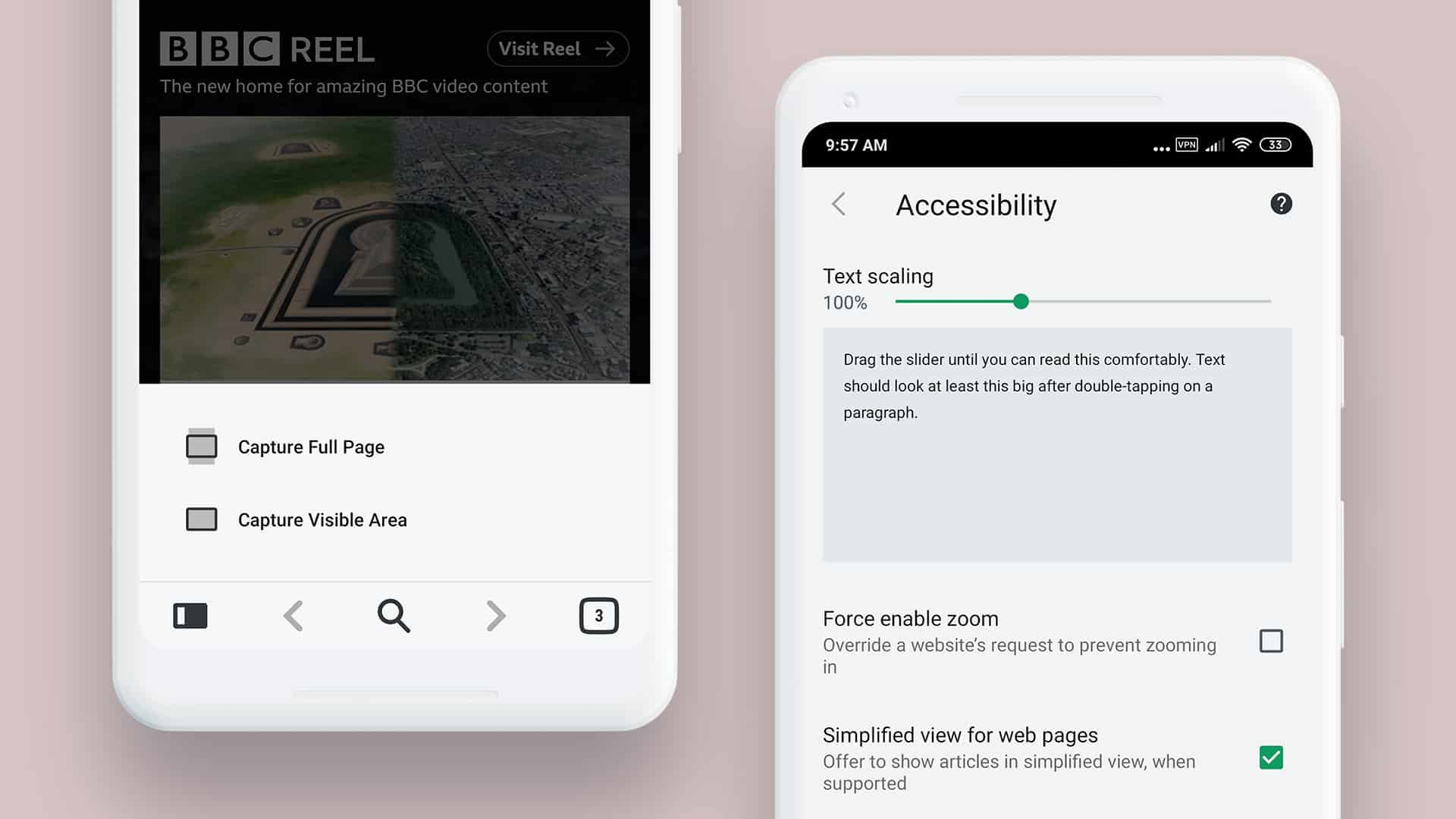 Vivaldi browser Android