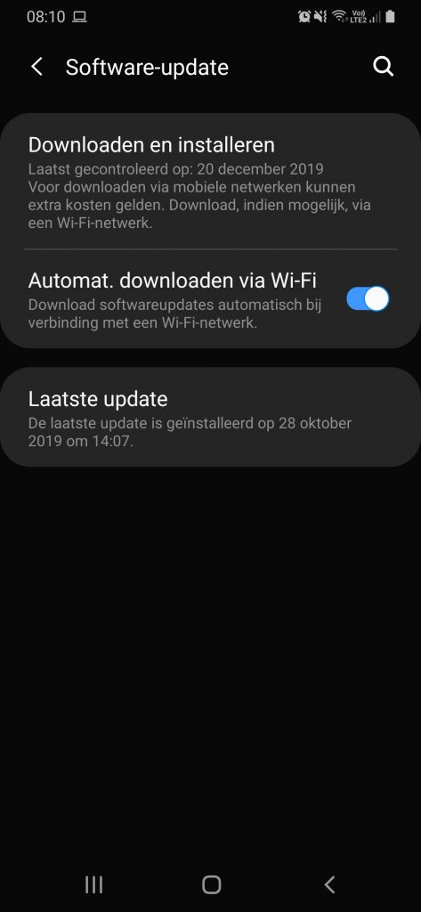 software-updates android