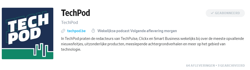 Technologie podcasts