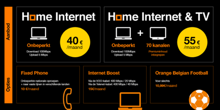 Orange internet-only