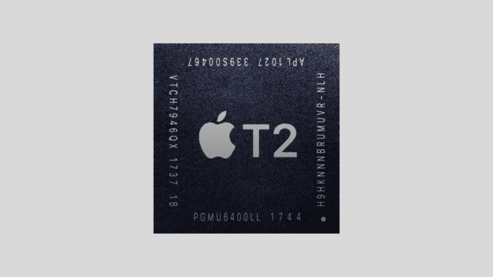 Apple ARM T2 security chip