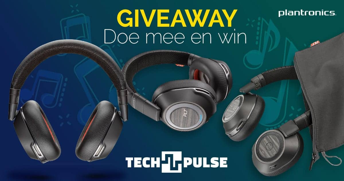 Giveaway: win een Poly Voyager 8200 UC bluetooth stereo headset!