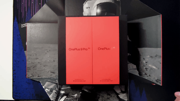 OnePlus 9 serie unboxing