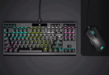 Corsair K70 RGB TKL Mechanisch toetsenbord header