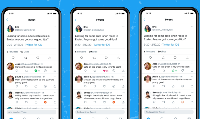 downvote feature gestest op Twitter