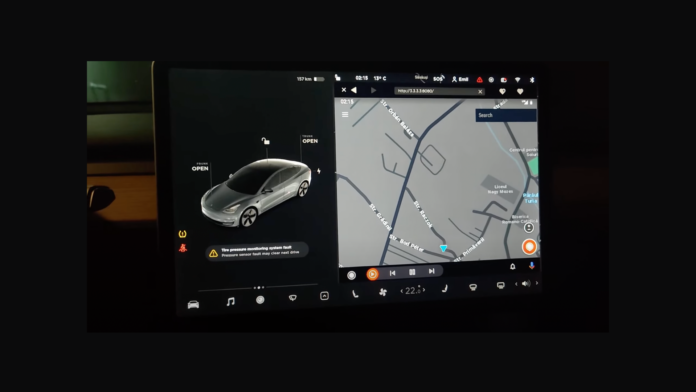 Android Auto in Tesla